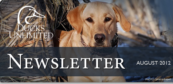 Ducks Unlimited Newsletter: July 2012
