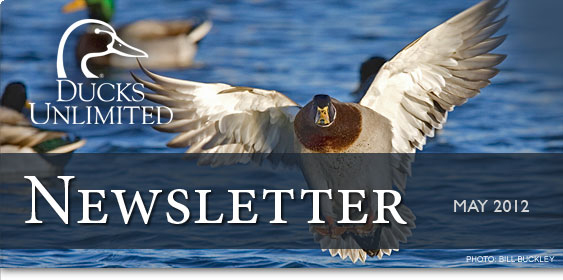 Ducks Unlimited Newsletter: May 2012