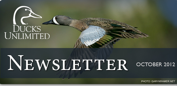 Ducks Unlimited Newsletter: October 2012