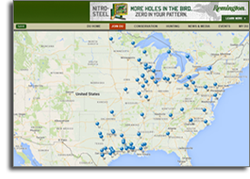 Ducks Unlimited Migration Map